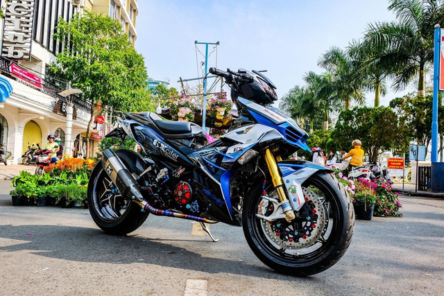 Dân chơi Cần Thơ chi 300 triệu lên đời Yamaha Exciter hầm hố - Ảnh 4.