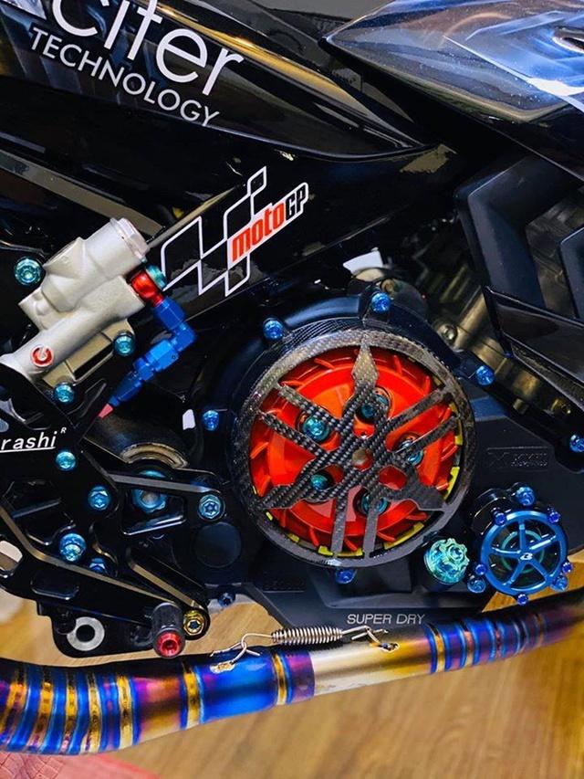 Dân chơi Cần Thơ chi 300 triệu lên đời Yamaha Exciter hầm hố - Ảnh 5.