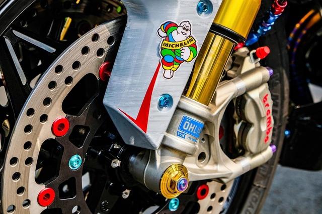 Dân chơi Cần Thơ chi 300 triệu lên đời Yamaha Exciter hầm hố - Ảnh 6.