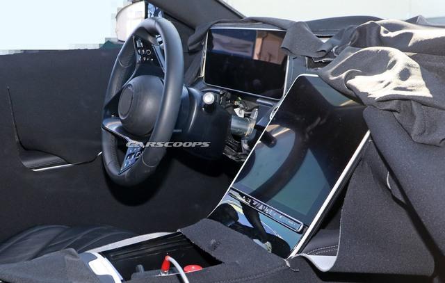 Mercedes-Benz S-Class mới lần đầu lộ diện trong nhà máy nhưng trang bị bên trong mới đáng chú ý - Ảnh 3.