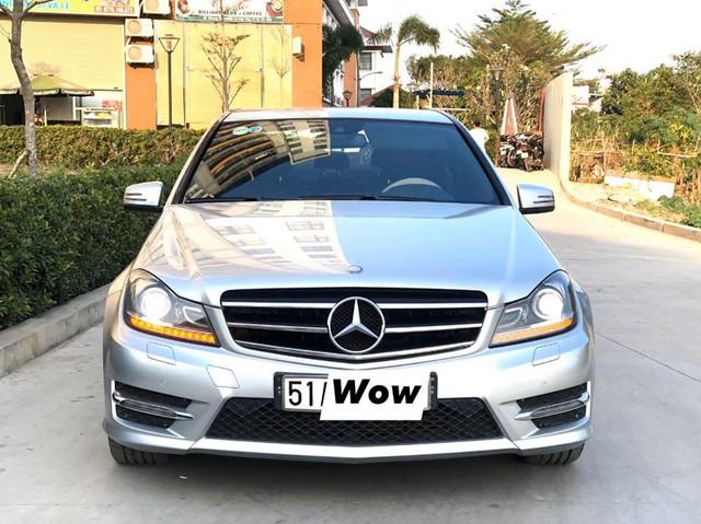 Chạy chưa tới 7.000 km/năm, Mercedes-Benz C200 2011 giữ giá cao ngang Mazda3 2019 đập hộp - Ảnh 1.