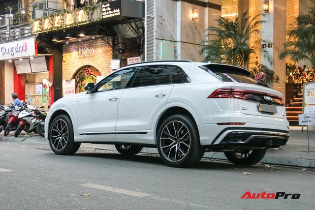 Cất siêu xe, chồng Diệp Lâm Anh xuống phố với Audi Q8 được trang bị gói phụ kiện ngàn USD - Ảnh 7.