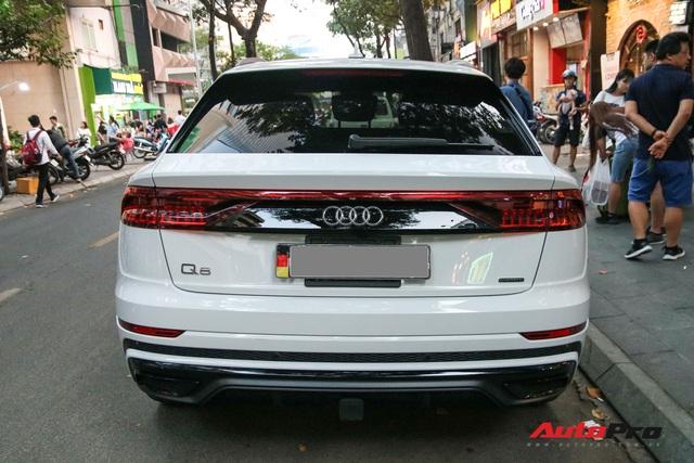 Cất siêu xe, chồng Diệp Lâm Anh xuống phố với Audi Q8 được trang bị gói phụ kiện ngàn USD - Ảnh 8.