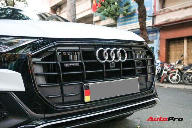 Cất siêu xe, chồng Diệp Lâm Anh xuống phố với Audi Q8 được trang bị gói phụ kiện ngàn USD - Ảnh 5.