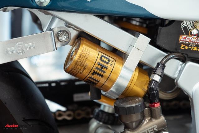 Biker Sài Gòn lột xác huyền thoại Honda NSR 150 cũ kỹ từ vài chục triệu thành bản độ hơn 200 triệu đồng nức lòng dân chơi Việt - Ảnh 11.