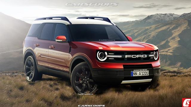 Những điều cần biết về Ford Baby Bronco sắp ra mắt: Ngang Escape nhưng thiết kế hao hao 'Mẹc G'