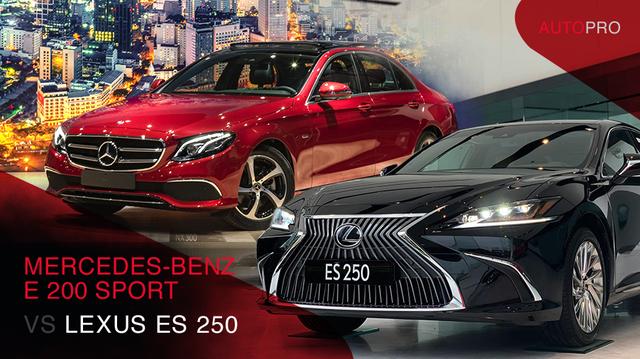 Chênh 223 triệu đồng, chọn Lexus ES 250 hay Mercedes-Benz E 200 Sport: Xe Nhật nhập khẩu đấu xe Đức lắp ráp