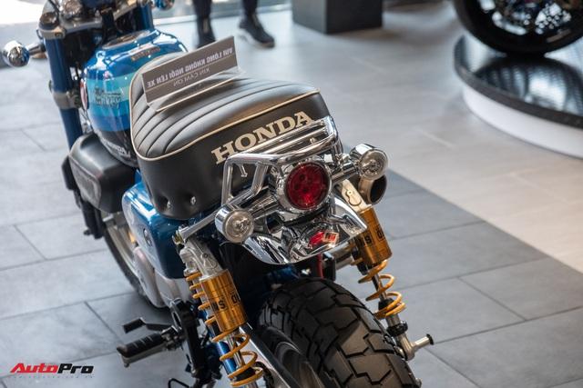 Xe khỉ Honda Monkey 125 khác biệt với dàn đồ chơi ngang ngửa chiếc SH125i - Ảnh 8.