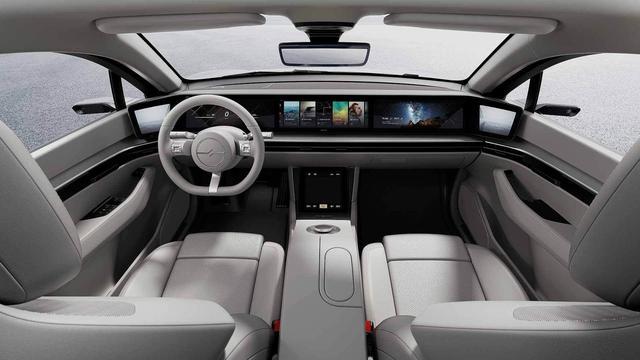 Sony bất ngờ ra mắt ô tô mang tên Vision-S, bắt tay đối tác của VinFast - Ảnh 4.