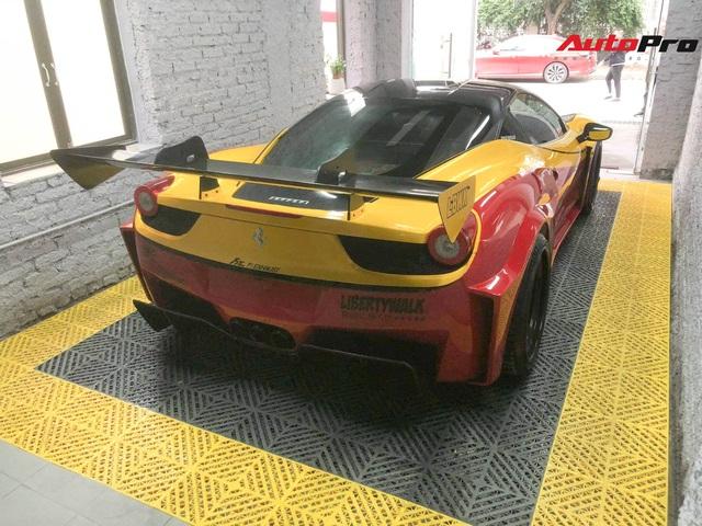 Ferrari 458 LB-Silhouette Works độc nhất Việt Nam thay 'áo' lạ đón Tết - Ảnh 4.