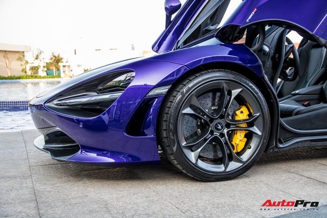 Cận cảnh McLaren 720S với lớp sơn giá trị gần 10.000 USD độc nhất Việt Nam của đại gia Vũng Tàu - Ảnh 7.