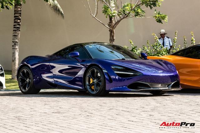 Cận cảnh McLaren 720S với lớp sơn giá trị gần 10.000 USD độc nhất Việt Nam của đại gia Vũng Tàu - Ảnh 5.