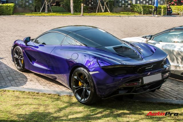 Cận cảnh McLaren 720S với lớp sơn giá trị gần 10.000 USD độc nhất Việt Nam của đại gia Vũng Tàu - Ảnh 9.