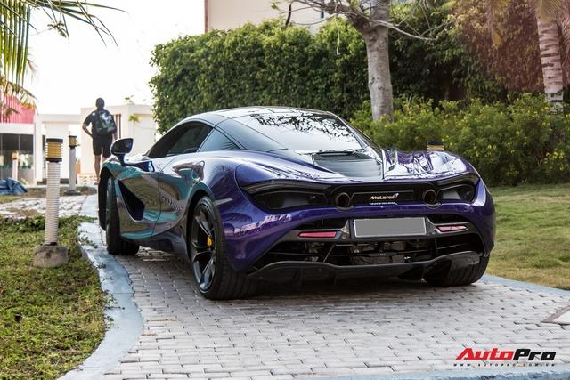 Cận cảnh McLaren 720S với lớp sơn giá trị gần 10.000 USD độc nhất Việt Nam của đại gia Vũng Tàu - Ảnh 10.