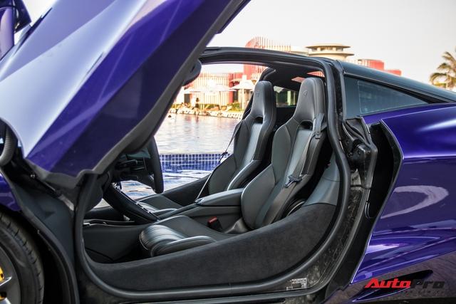 Cận cảnh McLaren 720S với lớp sơn giá trị gần 10.000 USD độc nhất Việt Nam của đại gia Vũng Tàu - Ảnh 8.