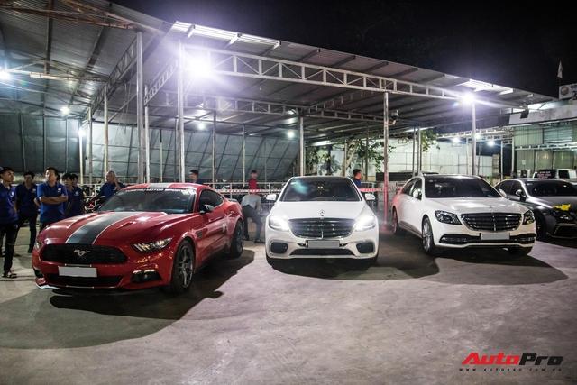 Cường Đô-la cùng trưởng đoàn Car Passion hội ngộ dàn siêu xe khủng của đại gia Bình Phước - Ảnh 16.