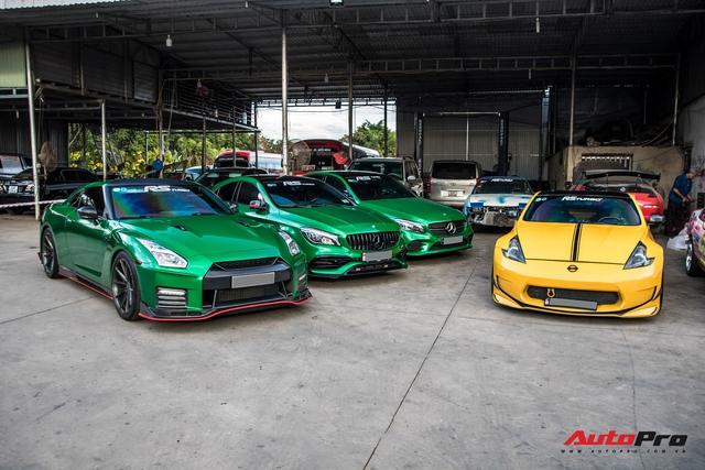 Cường Đô-la cùng trưởng đoàn Car Passion hội ngộ dàn siêu xe khủng của đại gia Bình Phước - Ảnh 5.