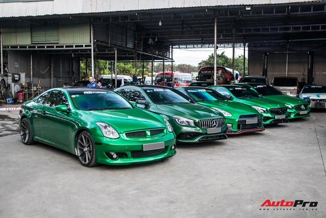Cường Đô-la cùng trưởng đoàn Car Passion hội ngộ dàn siêu xe khủng của đại gia Bình Phước - Ảnh 8.