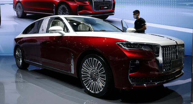 Ra mắt Maybach S-Class kéo dài của Trung Quốc Hongqi H9+: Pha trộn cả Mercedes, Bentley và Rolls-Royce - Ảnh 1.