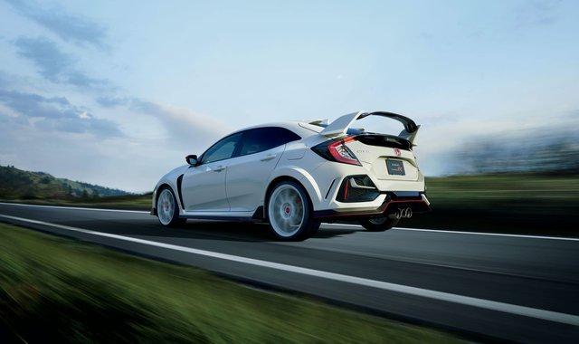 Honda nâng cấp nhẹ Civic Type R, bổ sung thêm đồ chơi - Ảnh 1.