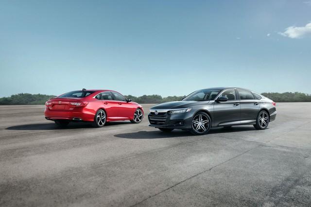 Honda Accord 2021 ra mắt: Lần đầu bỏ tùy chọn hộp số sàn, thêm phiên bản đặc biệt đấu Toyota Camry - Ảnh 2.
