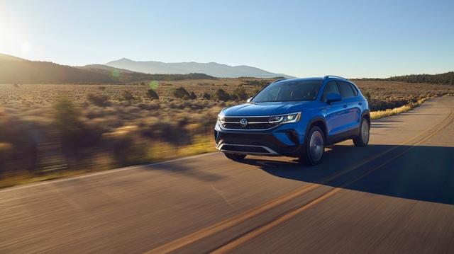 Ra mắt Volkswagen Taos - SUV mới toanh đe doạ Kia Seltos