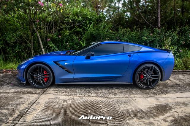 Cận cảnh Chevrolet Corvette C7 Stingray màu độc giá hơn 4 tỷ đồng của dân chơi Trà Vinh - Ảnh 7.