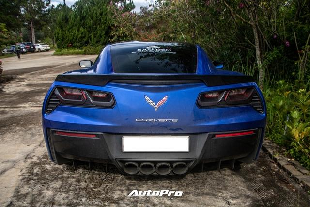 Cận cảnh Chevrolet Corvette C7 Stingray màu độc giá hơn 4 tỷ đồng của dân chơi Trà Vinh - Ảnh 4.