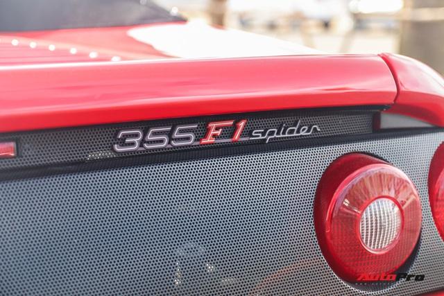 Bắt gặp Ferrari F355 F1 Spider độc nhất Việt Nam của tập đoàn Novaland - Ảnh 7.