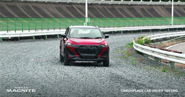 Lộ thiết kế rõ nét của Nissan Magnite với nhiều điểm tương đồng Kia Seltos, nội thất sang chảnh gây chú ý - Ảnh 4.