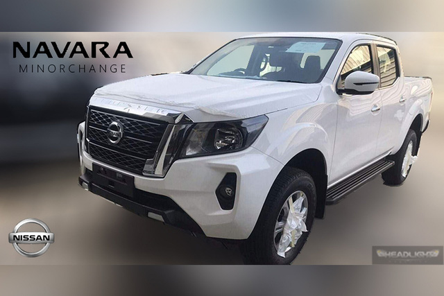 Nissan Navara 2021 lộ ảnh ngoài đời thực: Lưới tản nhiệt lớn, có chi tiết giống Toyota Hilux, chỉ chờ nhà phân phối mới mang về Việt Nam - Ảnh 1.