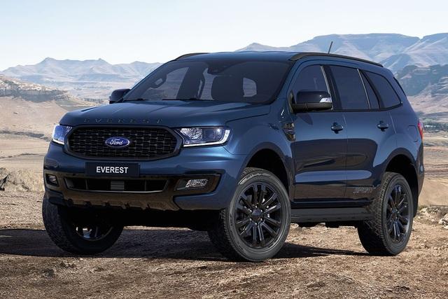 Ford Everest phiên bản mới rục rịch ra mắt tại Việt Nam: Ngoại hình hầm hố, đáp trả Toyota Fortuner và Mitsubishi Pajero Sport - Ảnh 1.