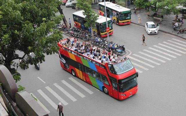 Xe bus 2 tầng Hà Nội hoạt động trở lại từ sáng 17/10 - Ảnh 1.