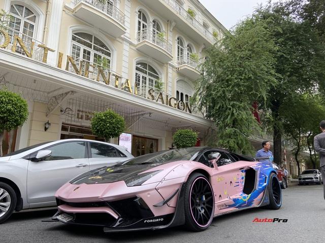 Ngắm Lamborghini Aventador độ Liberty Walk độc nhất Việt Nam khoác áo Thủy thủ Mặt Trăng - Ảnh 1.