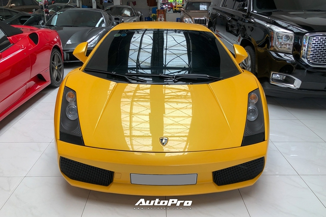 Lamborghini Gallardo từng của doanh nhân Nguyễn Quốc Cường trở nên khác lạ với bộ mâm gần 400 triệu đồng - Ảnh 4.