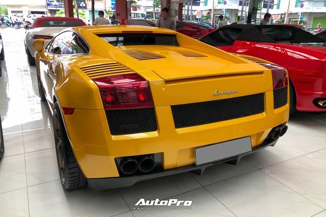 Lamborghini Gallardo từng của doanh nhân Nguyễn Quốc Cường trở nên khác lạ với bộ mâm gần 400 triệu đồng - Ảnh 6.