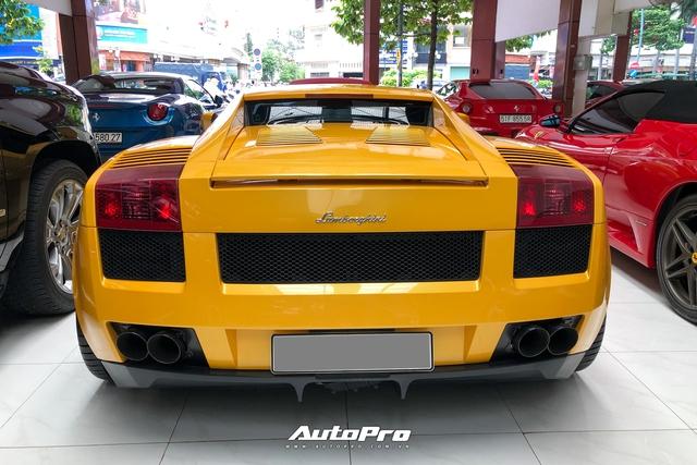 Lamborghini Gallardo từng của doanh nhân Nguyễn Quốc Cường trở nên khác lạ với bộ mâm gần 400 triệu đồng - Ảnh 7.