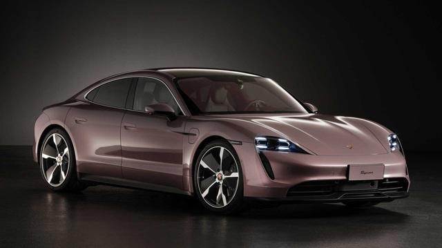 Porsche Taycan - xe thể thao chạy điện vừa ra mắt tại Việt Nam đạt doanh số khủng