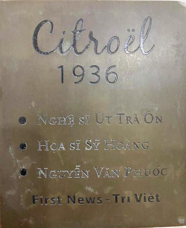 Đấu giá xe Citroel cổ của NSND Út Trà Ôn, ủng hộ đồng bào lũ lụt miền Trung - Ảnh 3.