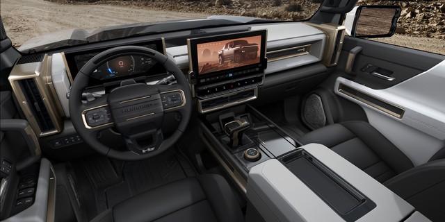 Hummer chính thức trở lại: Kiểu dáng bán tải, động cơ 1.000 mã lực, sạc nhanh như điện thoại - Ảnh 5.