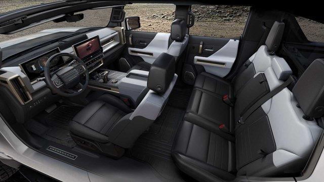 Hummer chính thức trở lại: Kiểu dáng bán tải, động cơ 1.000 mã lực, sạc nhanh như điện thoại - Ảnh 6.