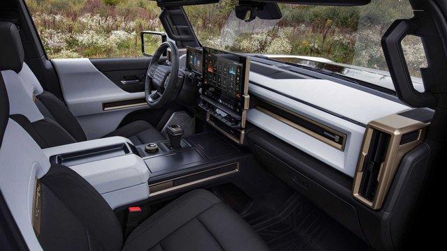 Hummer chính thức trở lại: Kiểu dáng bán tải, động cơ 1.000 mã lực, sạc nhanh như điện thoại - Ảnh 7.
