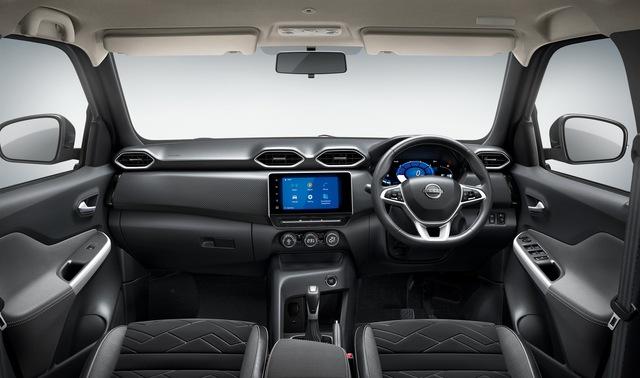 Nissan Magnite hoàn toàn mới ra mắt: SUV dưới 4 mét giá rẻ, nếu về Việt Nam dễ lập kỳ tích - Ảnh 4.