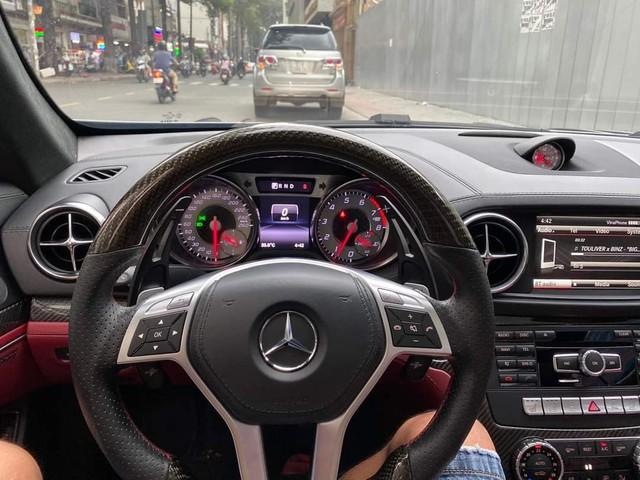 6 năm chỉ chạy 32.000km, hàng hiếm Mercedes-Benz SL 350 AMG bán lại với giá 3,3 tỷ đồng - Ảnh 5.