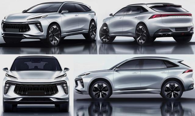 SUV Trung Quốc hoàn toàn mới, dáng sang chảnh như Maserati lên lịch về Việt Nam đấu Honda CR-V - Ảnh 1.