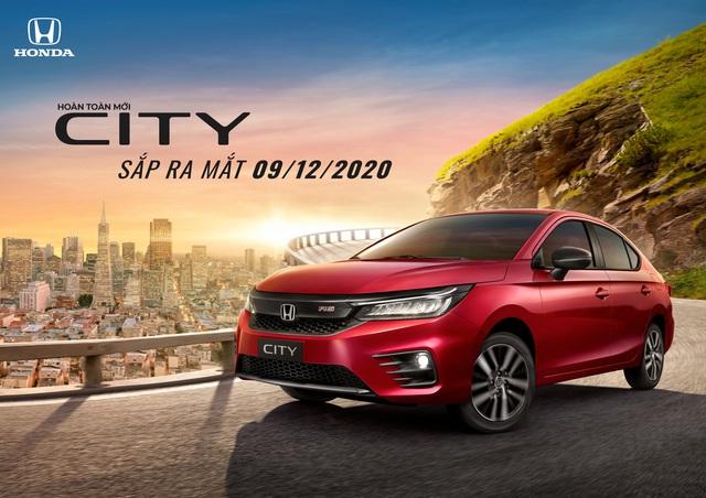 Honda City thế hệ mới chốt lịch ra mắt Việt Nam: 3 bản, 6 màu, đe nẹt Toyota Vios - Ảnh 2.