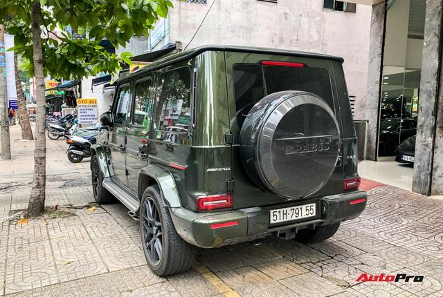 Cận cảnh Mercedes-AMG G 63 với màu sơn trị giá hơn 151 triệu đồng cùng gói độ độc của dân chơi Sài Gòn - Ảnh 5.