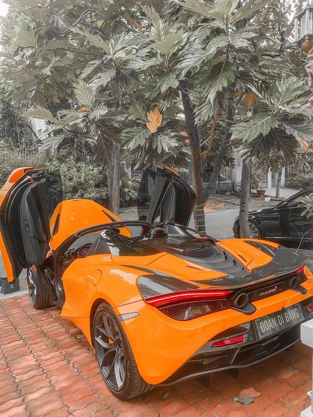Nữ ca sĩ Đoàn Di Băng được chồng tặng hẳn siêu xe McLaren 720S Spider, không quên đề cập tới chuyện thiện nguyện tại thời điểm này - Ảnh 7.