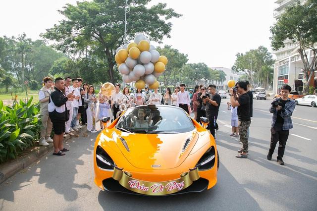 Nữ ca sĩ Đoàn Di Băng được chồng tặng hẳn siêu xe McLaren 720S Spider, không quên đề cập tới chuyện thiện nguyện tại thời điểm này - Ảnh 6.