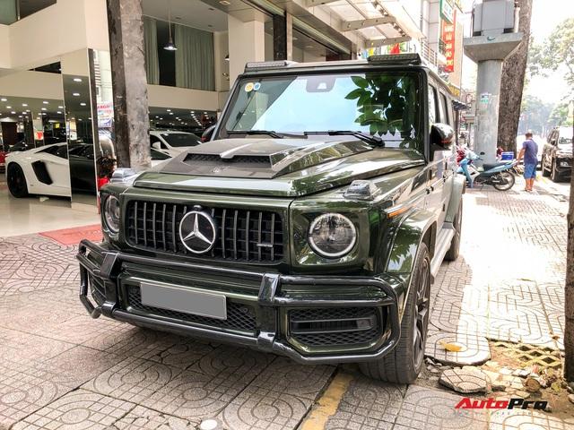 Sau Lamborghini Aventador Roadster, dân chơi Bình Phước tậu về Mercedes-AMG G 63 màu hiếm giá hơn 13 tỷ đồng - Ảnh 3.
